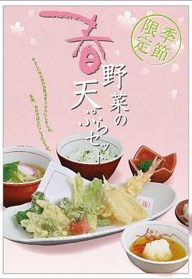野菜の天ぷらセット