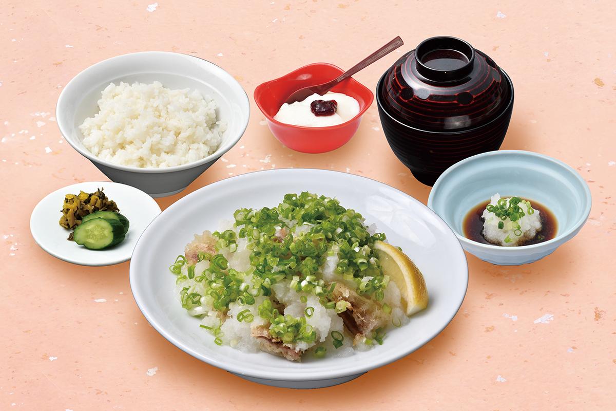 黒豚天ぷら定食