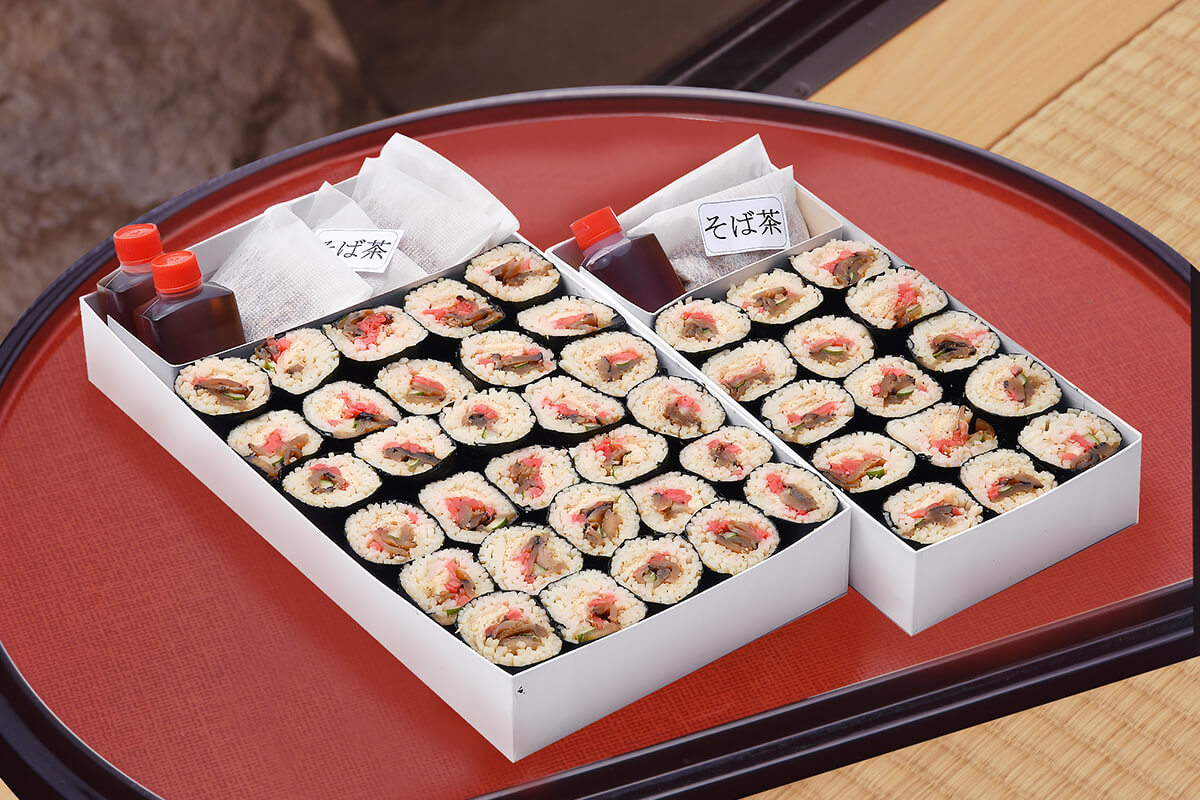 そば寿司(一口巻・15個入)